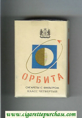Orbita white and blue cigarettes soft box