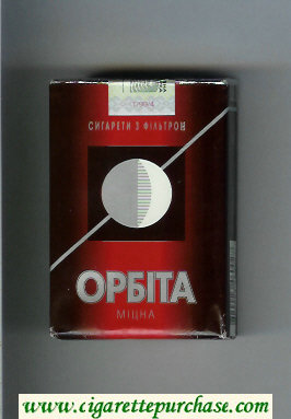 Orbita Mitsna cigarettes soft box