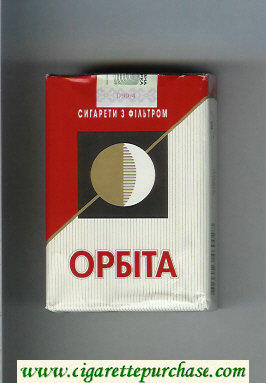 Orbita T soft box cigarettes