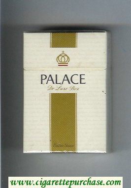 Palace De Luxe Extra Suave cigarettes hard box