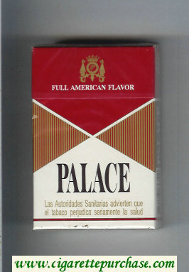 Palace Full American Flavor cigarettes hard box