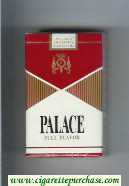 Palace Full Flavor cigarettes soft box