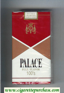 Palace Full Flavor 100s cigarettes soft box