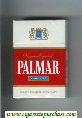 Palmar King Size Virginia Especial cigarettes hard box