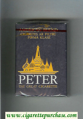Peter American Blend cigarettes soft box