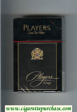 Players Low Tar Filter cigarettes hard box