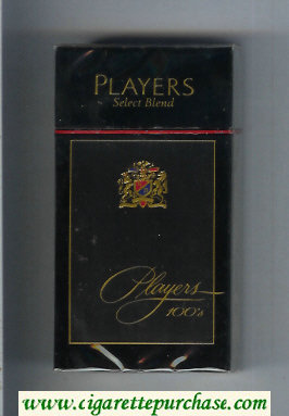 Players Select Blend 100s cigarettes hard box