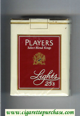Players Select Blend Lights 25 cigarettes soft box