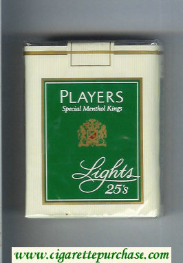 Players Special Menthol Lights 25 cigarettes soft box