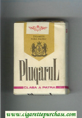 Plugarul white and gold cigarettes soft box