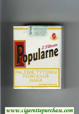 Popularne Z Filtrem white cigarettes soft box