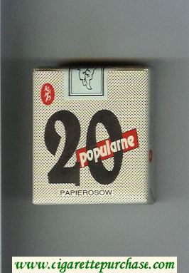 Popularne 20 grey cigarettes soft box
