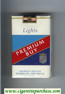 Premium Buy Lights cigarettes soft box
