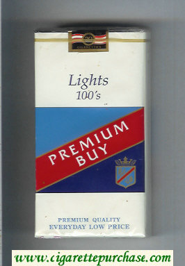 Premium Buy Lights 100s cigarettes soft box