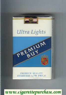 Premium Buy Ultra Lights cigarettes soft box