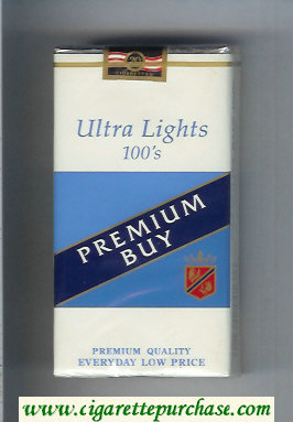 Premium Buy Ultra Lights 100s cigarettes soft box