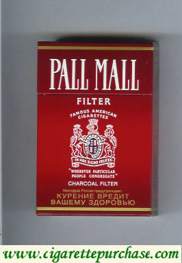 Discount Pall Mall Charcoal Filter Filter cigarettes hard box