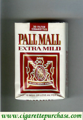 Discount Pall Mall Extra Mild cigarettes soft box