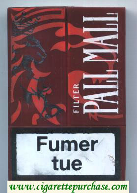 Discount Pall Mall Famous American Cigarettes Filter 20 cigarettes Acrylic Pack
