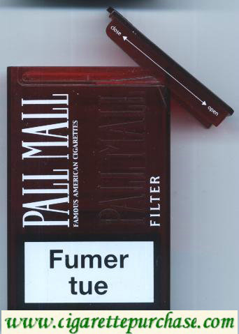 Discount Pall Mall Famous American Cigarettes Filter cigarettes Acrylic Pack