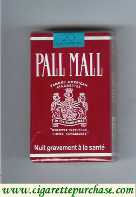 Discount Pall Mall Famous American Cigarettes cigarettes soft box