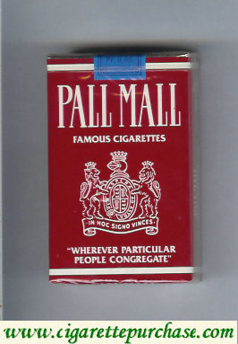 Discount Pall Mall Famous Cigarettes cigarettes soft box