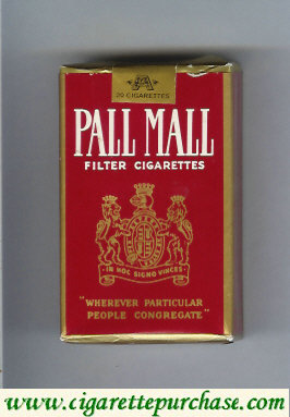 Discount Pall Mall Filter Cigarettes cigarettes soft box