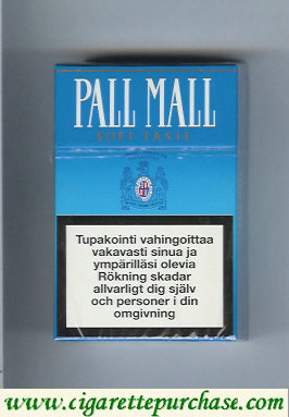 Discount Pall Mall Soft Taste cigarettes hard box