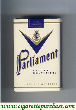 Discount Parliament Filter Mouthpiece white cigarettes soft box