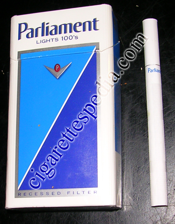 Discount Parliament Lights 100s cigarettes hard box