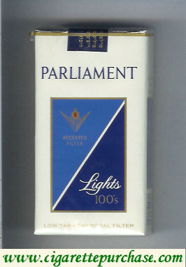 Discount Parliament Lights 100s cigarettes soft box