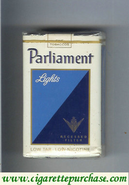 Discount Parliament Lights Recessed Filter cigarettes soft box
