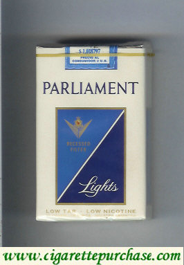 Discount Parliament Lights cigarettes soft box