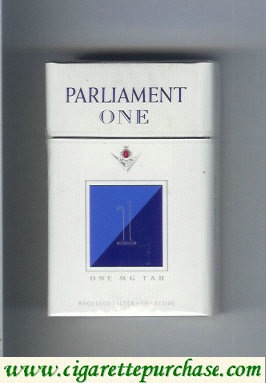 Discount Parliament One 1 One Mg Tar cigarettes hard box