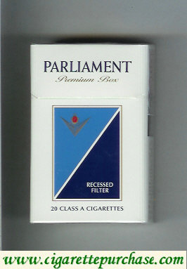 Discount Parliament Premium Box cigarettes hard box