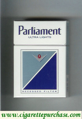 Discount Parliament Ultra Lights cigarettes hard box