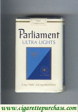 Discount Parliament Ultra Lights cigarettes soft box