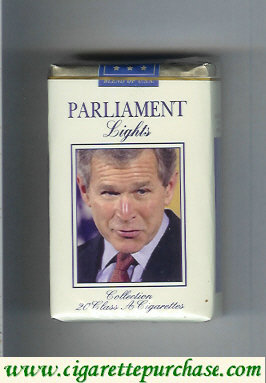 Discount Parliament cigarettes Lights design with George Bush