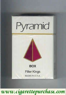 Discount Pyramid Box Filter Kings cigarettes hard box