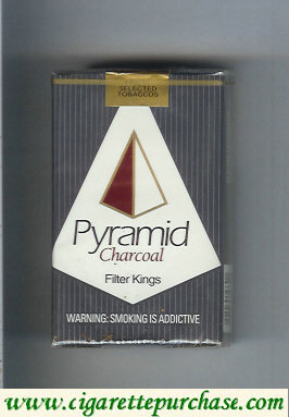 Pyramid Charcoal Filter Kings cigarettes soft box