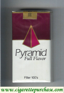 Discount Pyramid Full Flavor Filter 100s cigarettes soft box