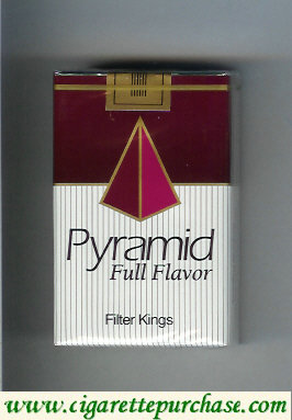 Pyramid Full Flavor Filter Kings cigarettes soft box