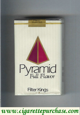 Pyramid Full Flavor Filter Kings soft box cigarettes