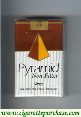 Pyramid Non-Filter Kings cigarettes soft box