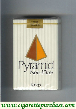 Discount Pyramid Non Filter Kings soft box cigarettes