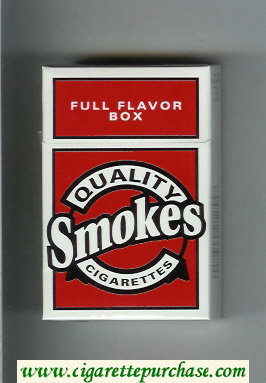 Discount Quality Smokes Full Flavor cigarettes hard box