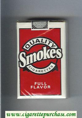 Discount Quality Smokes Full Flavor cigarettes soft box