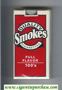 Discount Quality Smokes Full Flavor 100s cigarettes soft box