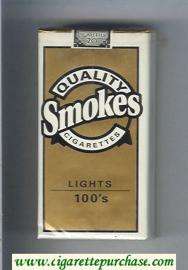 Discount Quality Smokes Lights 100s cigarettes soft box