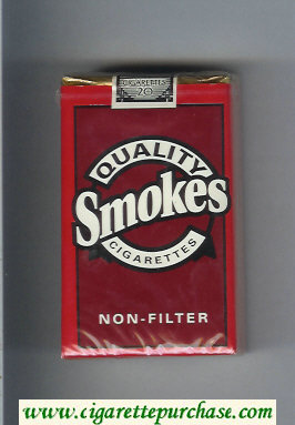 Discount Quality Smokes Non-Filter cigarettes soft box